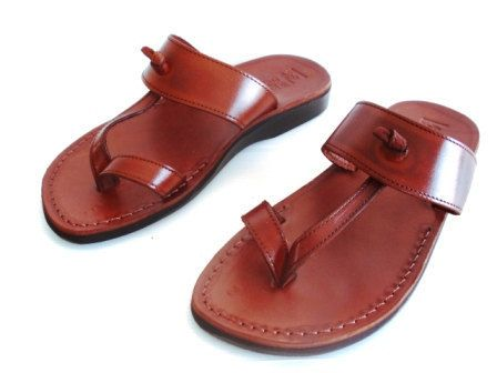 preview of best deals on usa cheap sale Brown Leather Sandals, EMPIRE, Womens Shoes, Jesus Sandals ...