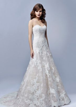 Wedding Dress Out Of Blue By Enzoani Joy In 2020 Cape Wedding Dress Wedding Dress Hire Wedding Dress Couture