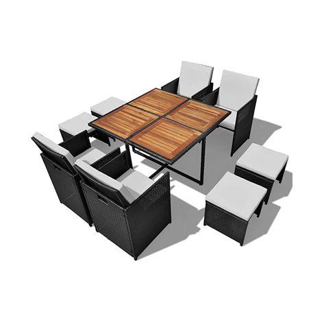 Salon de jardin | Outdoor dining set, Outdoor furniture sets ...