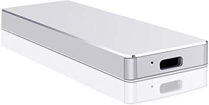 2TB,Plata Mac Desktop Laptop Disco Duro Externo 2TB Xbox One Type C USB3.1 Disco Duro Externo para PC MacBook