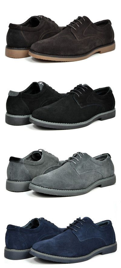 519e7b3d629e8 Dress Shoes 53120: Bruno Marc New York Men S Suede Leather Casual Lace Up  Dress Oxfords Shoes -> BUY IT NOW ONLY: $26.99 on #eBay #dress #shoes #bruno  ...