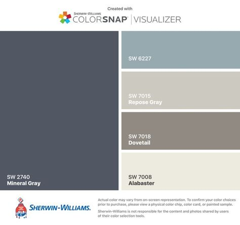 I found these colors with ColorSnap® Visualizer for iPhone by Sherwin-Williams: ... -  - #Genel