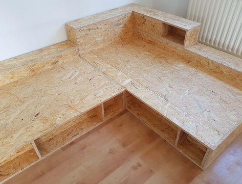 Sofa Selber Bauen Mit Diesem Bauplan Dieses Sofa Ist Ein Kombinationswunder Sowohl Als Eckkombinatio Sofa Selber Bauen Couch Selber Bauen Mobel Selber Bauen