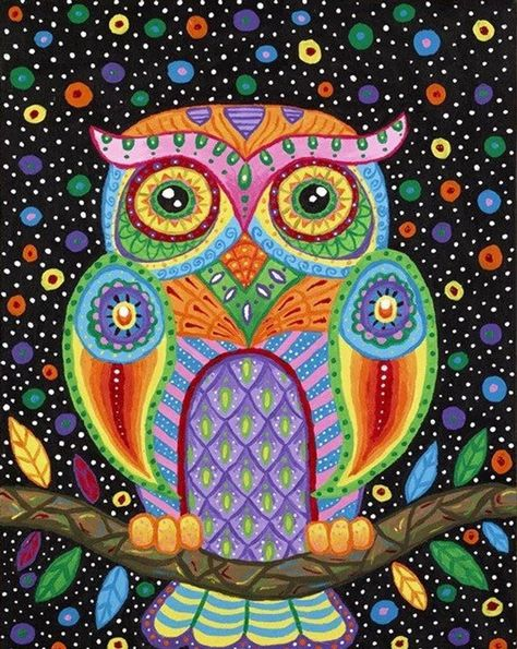 NEW moneyDIY Diamond Painting Animal Cute Owl round Mosaic Cross Stitch Diamont Embroidery Crsfts Wall Sticker Decoration