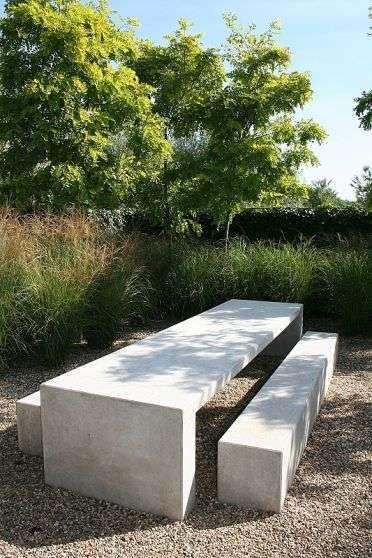 Tavoli Da Giardino In Cemento.Giardini In Stile Moderno Nel 2020 Giardini Esterni Arredamento