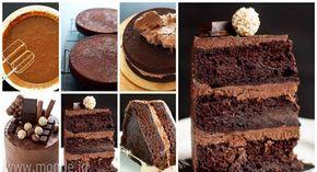 Resep Membuat Eggless Chocolate Cake Super Moist Lembut Meski Tanpa Telur Aneka Resep Jajanan Indonesia Kue Cokelat Memanggang Kue Makanan