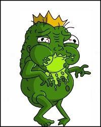 Principe Rana Principe Sapo Frog Prince Harry Potter Parody Los Simpsons Los Simpson Harry Potter