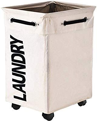 Amazon Com Haundry Collapsible Laundry Hamper With Wheels