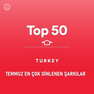 Spotify Top 50 Turkiye Temmuz 2020 Album Indir Spotify Turkiye En Iyi 50 Temmuz 2020 Album Indir 01 Didomido Eglo G Nimet 2020 Album Radyo Sarkilar
