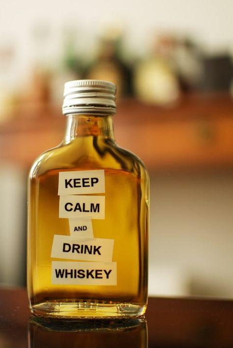 Keep Calm & Drink Whiskey