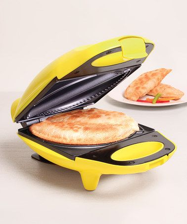 Take a look at this Yellow Nonstick Mini Empanada Maker by Holstein Housewares on #zulily today!