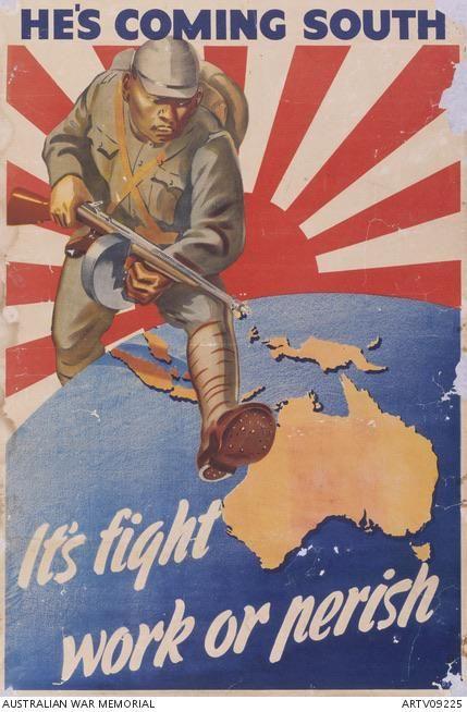 Australian Propaganda World War 2 1942 Propagandaposters Wwii Propaganda Posters Propaganda Propaganda Art