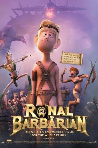 Ronal Barbarian Poster 24x36 Barbarian Movie Barbarian Free Movies Online