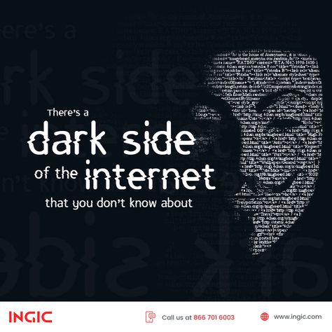 The dark web is a restricted portion of the deep web, full of unusual activities which can only be accessed using encrypted browsers.