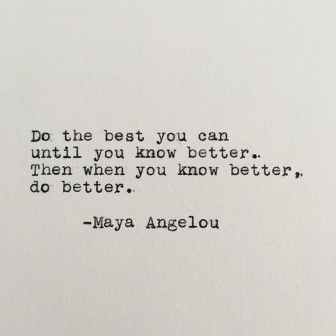 Maya Angelou Quote Typed on Typewriter 4x6 by LettersWithImpact