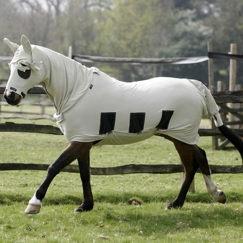 Sweet Itch Anti Horse Hood Beige From Snuggy Hoods