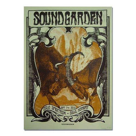 soundgarden oslo