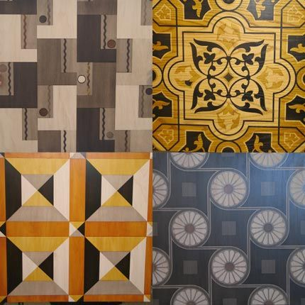 Royal Design Studio hosts a class on floor stenciling and pattern workshop class to decorate your home with beautiful design