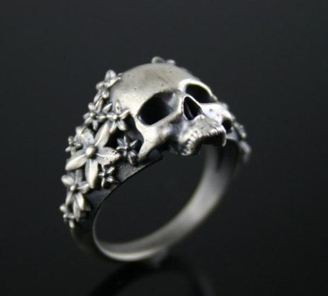 Specifications: Sterling Silver Until Death, Inc. Item as shown in photos. Custom Made to Order in your size. Finishes include Brushed, High Polish, Or Black Rh Goth Jewelry, Scarf Jewelry, Skull Jewelry, Pendant Jewelry, Jewelry Box, Jewelry Accessories, Jewelry Necklaces, Bullet Jewelry, Statement Necklaces