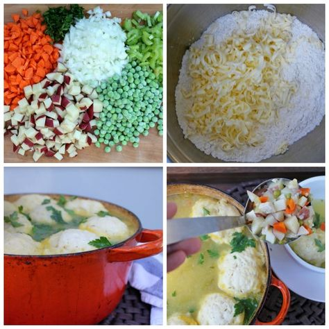 Fácil de pollo y la receta de masa hervida
