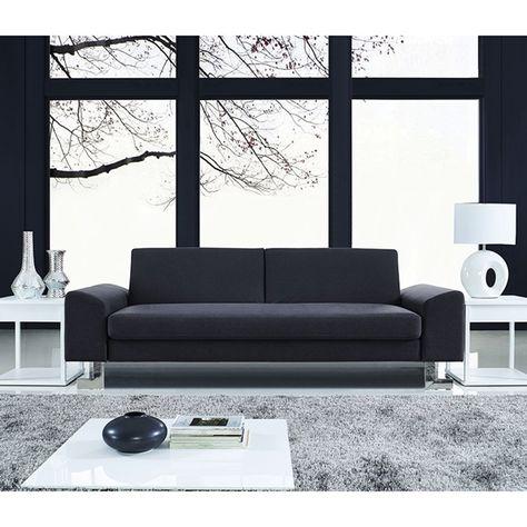 Dallas Contemporary Blue Gray Sleeper Sofa Minimalist Sofa Design Modern Living Chrome Feet Eurway Modern Sofa Bed Modern Sofa Minimalist Sofa