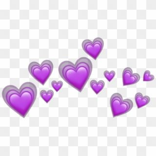 Heart Hearts Tumblr Emoji Sticker Emojis Crown Purple Heart Crown Iphone Emoji Png Transparent Png In 2020 Pink Heart Emoji Heart Emoji Love Heart Emoji