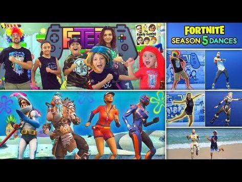 Fortnite Dance Challenge In Real Life 3 Funnel V Fam Bahamas Season 4 5 Youtube Fortnite Real Life Funnel Vision