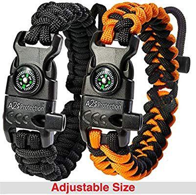 Amazon Com A2s Protection Paracord Bracelet K2 Peak Survival