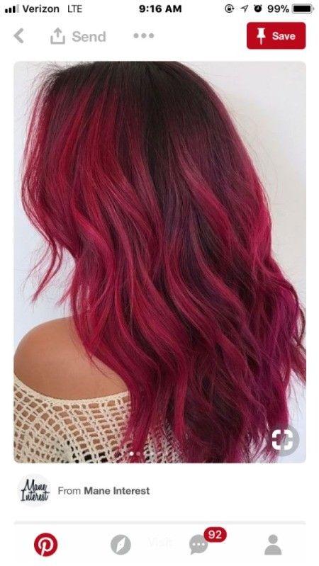 Toning Down Dyed Hair Pink Hair Dye Dark Pink Hair Dark Hair Dye