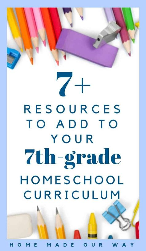 Plan & schedule your grade homeschool using these curriculum picks, daily schedule, & lesson plans to help guide you and put together your school year. 7th Grade Science, Science Student, Science Classroom, Teaching Science, Science Education, Grammar Review, Bulletins, School Schedule, Middle Schoolers