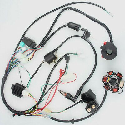 eBay Advertisement) Component Ignition System set Quad Cluster Switch Kit  Replacement Parts | Atv accessories, Ignition system, Parts and accessoriesPinterest