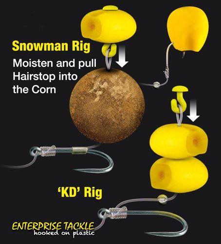 Carp Coarse Fishing Imitation Baits Enterprise Tackle Pop Up Corn Sweetcorn