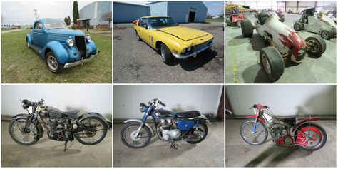 Massive Collection With Hundreds of Rare Vintage Cars and