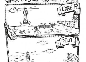 Pin Von Michaela Obst Auf Ausmalbild Flut Illustrator Ausmalbild