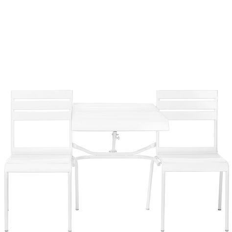 calypso falt bank mit ausklappbarem tisch gartenm bel outdoorm bel butlers. Black Bedroom Furniture Sets. Home Design Ideas