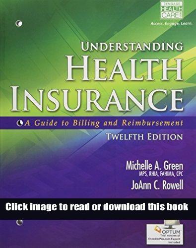 Pdf Understanding Health Insurance A Guide To Billing And Reimbursement With Premium Website 2 In 2020 Understanding Health Health Insurance