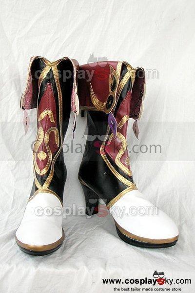 Ys Origin Zava Cosplay Boots Shoes Custom Made #Affiliate