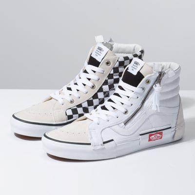 Checkerboard Sk8 Hi Reissue Cap Shop Classic Shoes Vans Checkerboard Classic Shoes Sneakers