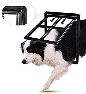 Lesypet Dog Screen Door Pet Door With Magnetic Automatic Lock For Pet Screen Door Inner 12 Width 15 5 Height Doge Pet Hordeuren