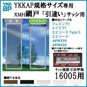Ykkap規格サイズ網戸 引き違い窓用 ブラックネット 呼称16005用 Ykk 虫除け 通風 サッシ 引違い窓 アルミサッシ Diy 虫除け 網戸 サッシ