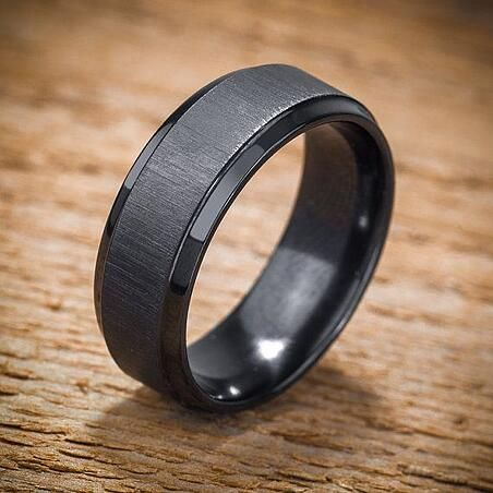 The Pros Cons Of Black Wedding Bands Mens Wedding Rings Black Wedding Rings Black Rings