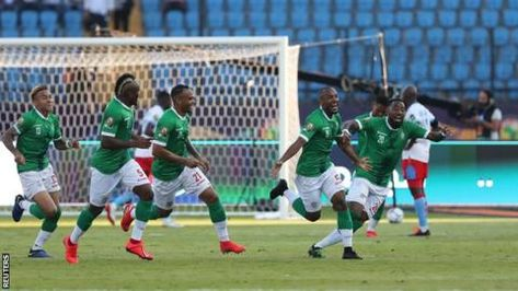 Madagascar were 190th in Fifa's world rankings five years agoAfrica Cup of Nations debutants Madagascar produced another upset to beat DR Congo 4-2 on penalties after a 2-2 draw and seal a quarter-final spot.In a thriller, Madagascar took a surprise lead through Ibrahim Amada's superb 20-yard strike before Cedric Bakambu equalised with a header.The Indian…