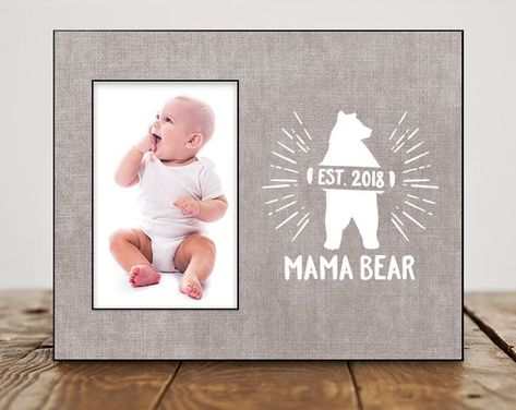 New Mom Gift Personalized Baby Shower For Birthday Picture Fr