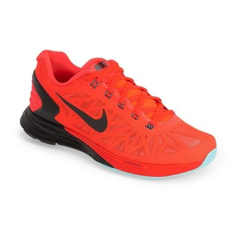 525c55035b8a Nike  Lunarglide 6  Running Shoe (405 AED) ❤ liked on Polyvore featuring  shoes