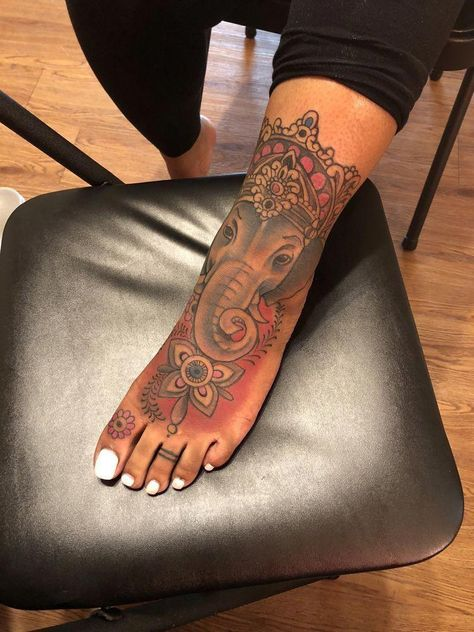 tattoo foot placement #Foottattoos