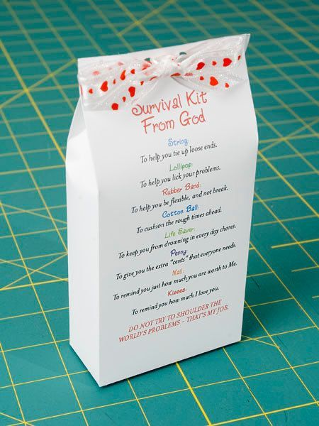 Survival Kit from God Printable PDF by pixiedustgifts on Etsy