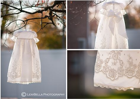 Christening detail shots, so you always remember the little things like the pattern of the lace