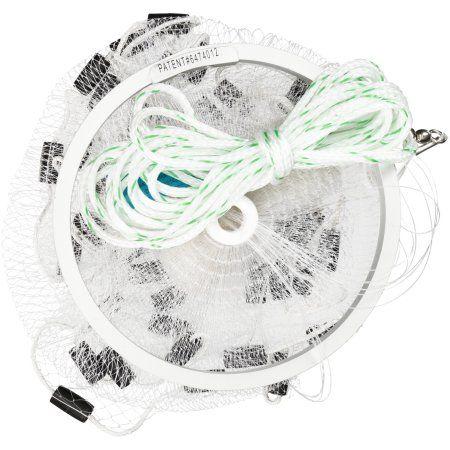 Fitec EZ Throw 750 Cast Net Clear 3//4 Lb wts. 4ft 3//8/' mesh