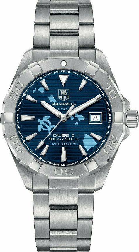 Brand New Tag Heuer Aquaracer Hawaii Limited Edition Men's Watch WAY2119.BA0928