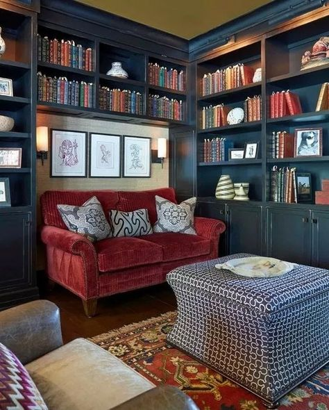 Home Librarydesign Ideas: 43 Library Design Ideas For You At Home To Look Amazing